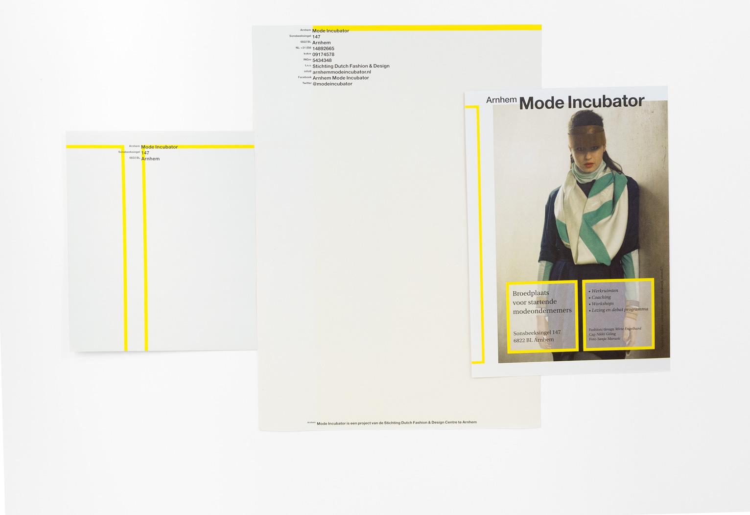 Arnhem Mode Incubator, briefpapier