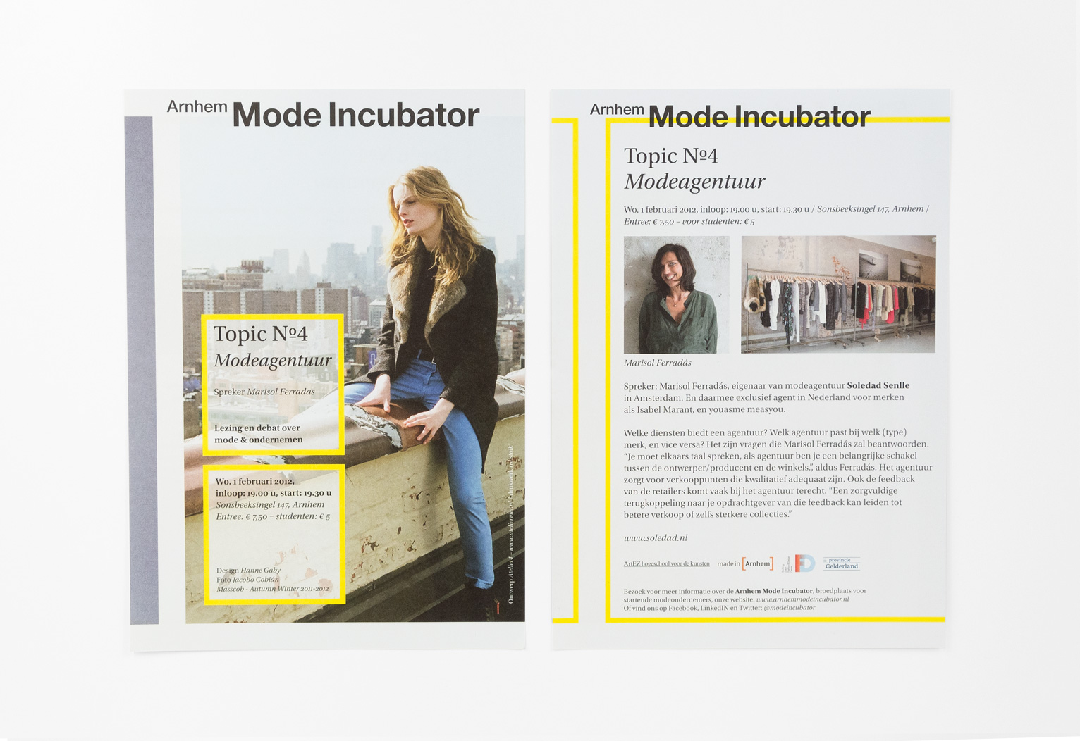 Arnhem Mode Incubator, flyer