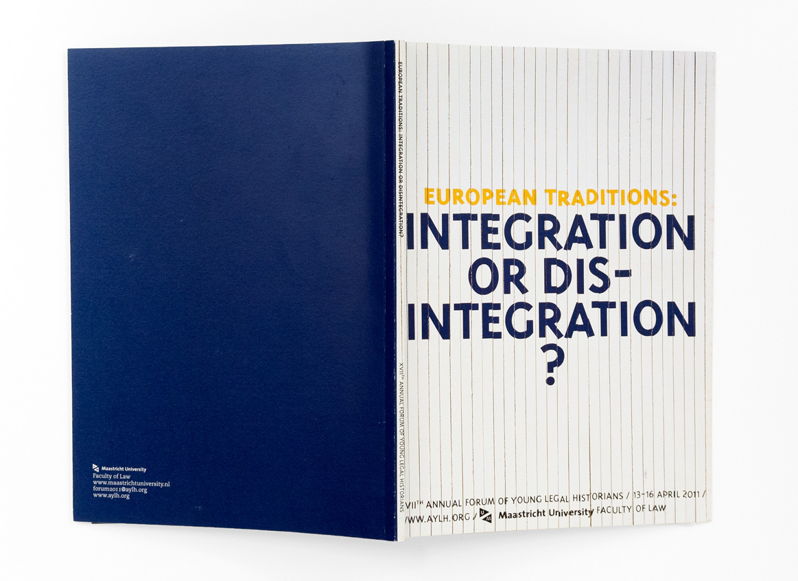 Boek Integration or Disintegration (omslag)?