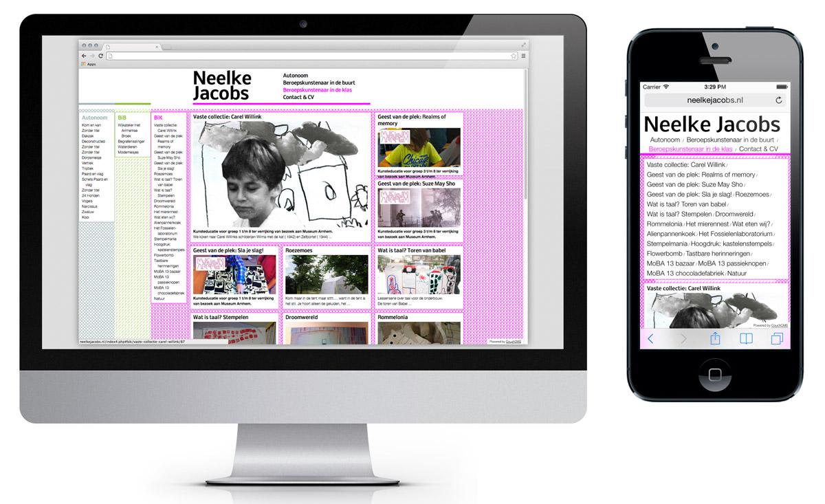 Website, portfolio C