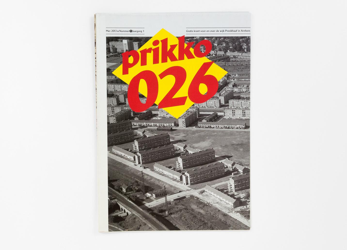 Prikko 026, dichtgevouwen