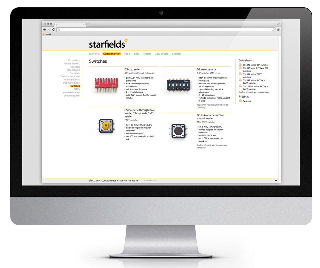 Starfields', website